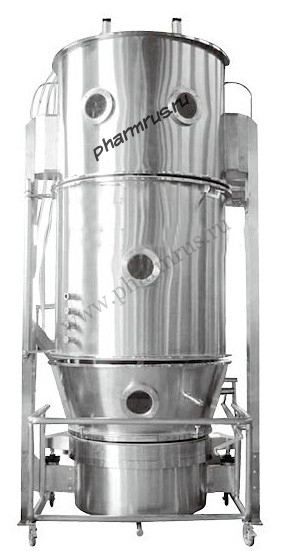 Гранулятор-сушилка «в кипящем слое»